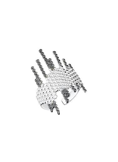 Bendis Design Petek Yüzük Gümüş